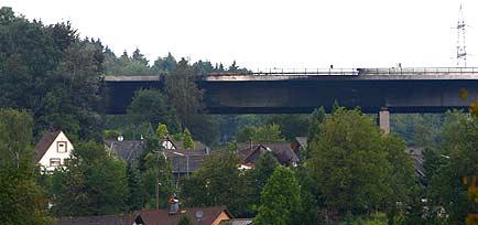 Die Wiehltalbrücke